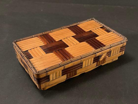 Bamboo box  [M-B 1057]