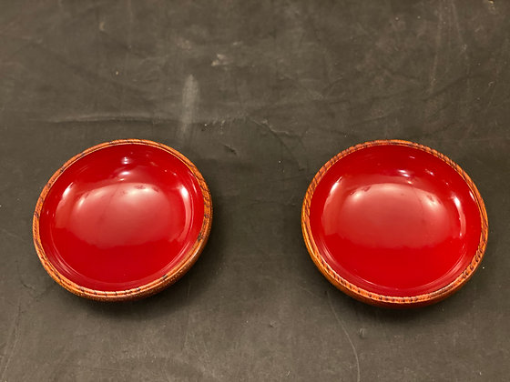 Lacquer Bowls (set of 2)  [DW-B 1140]