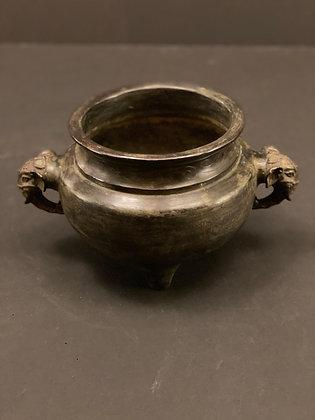 Incense burner, bronze  [H-I 1059]