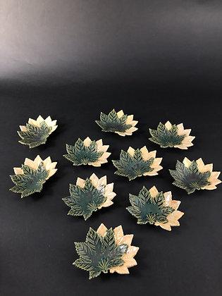 Oribe Plates (set of ten) [DW-P 190]