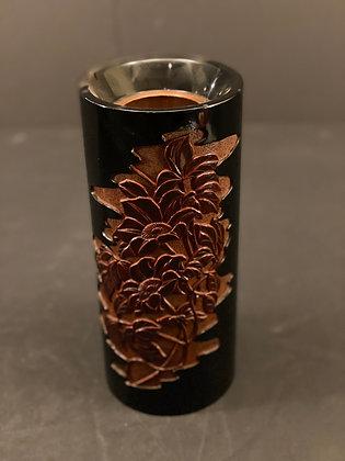 Lacquer wood carving Vase  [H-V 1183]