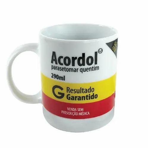 CANECA PORCELANA 320ML ACORDOL
