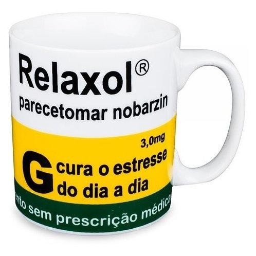 CANECA PORCELANA 320ML RELAXOL