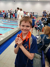 James Rowley 3rd Place 50m Back 2015 Suffolk County Championships