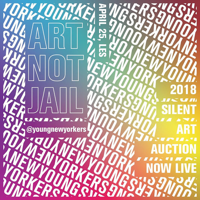 Art Not Jail | 2018 Silent Auction
