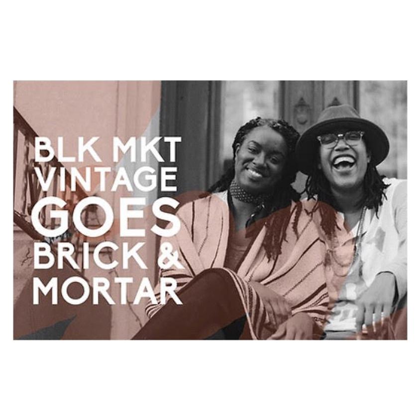 Support BLK MKT VINTAGE