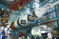 Kennedy Space Center - inside