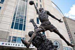 Chiacgo - Jordan statue