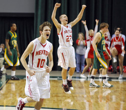 High school bball excitement