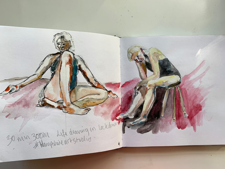 Zoom Lifedrawing
