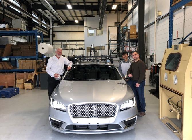 Burloak Technologies Measures Our New Car, Stardust