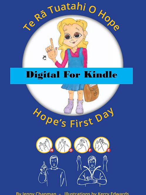 Hope's First Day for Kindle