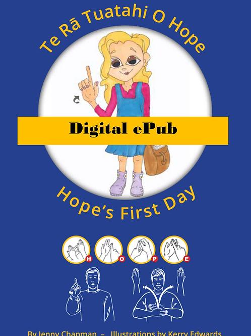 Hope's First Day Digital ePub
