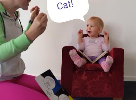 If she uses sign language will she speak?