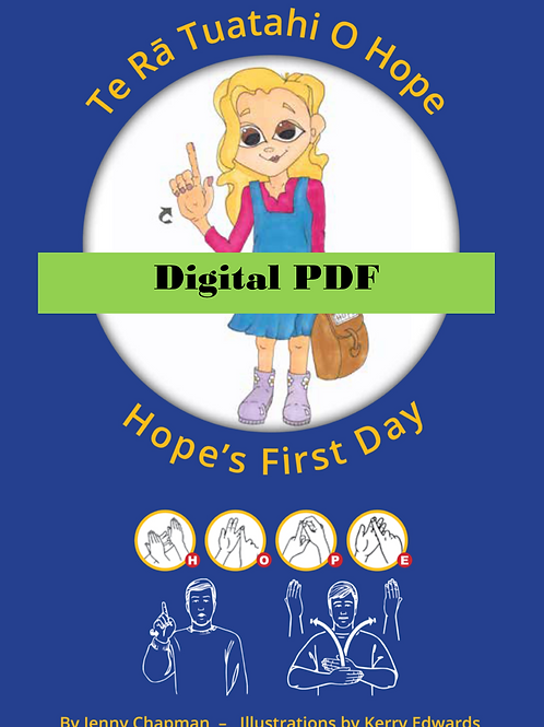Hope's First Day Digital PDF