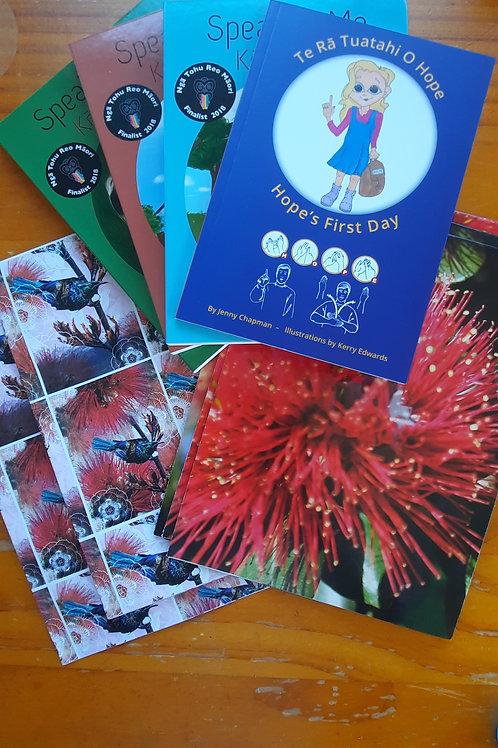 Kiwiana Christmas Wrap and Card