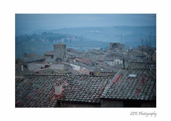 Roof Tiles in Montalcino