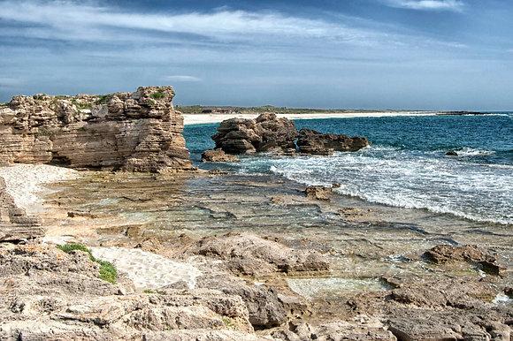 Spiaggia e Rocce, Is Arutas