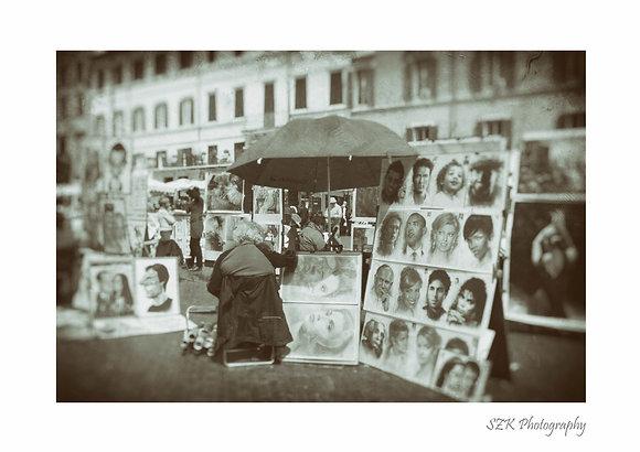 Ritrattista di Piazza Navona