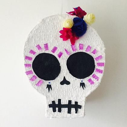 Piñata : tête de morte calavera