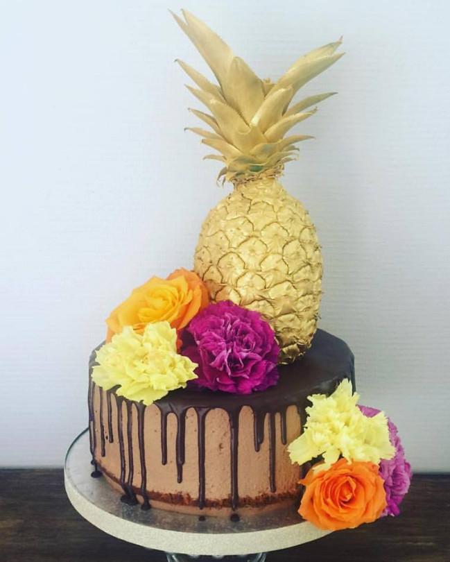 Esquimo Pinata Cake Design