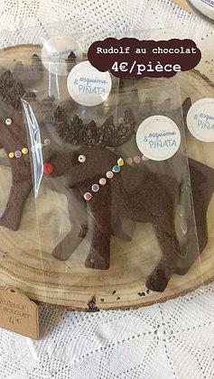 Biscuit : Rudolf au chocolat