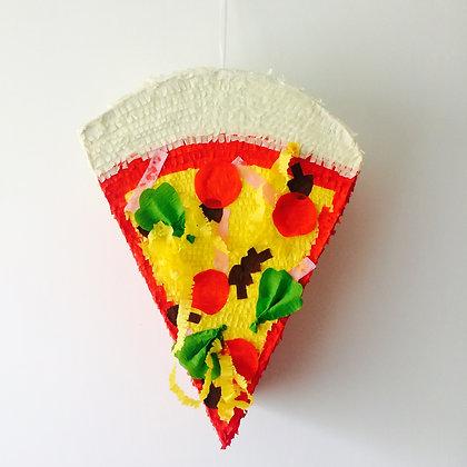 Piñata : part de pizza