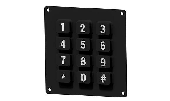 Custom Silicone Rubber Keypad
