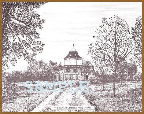 Mesnes Park, Pavilion