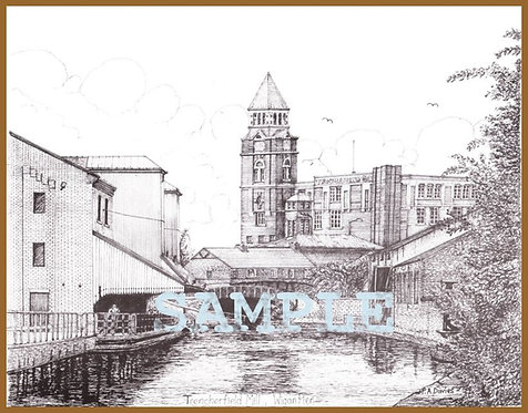 Trencherfield Mill, Wigan (A5 or A4) from