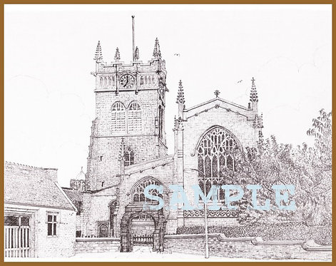 All Saints Parish Church, Wigan A5 or A4 from