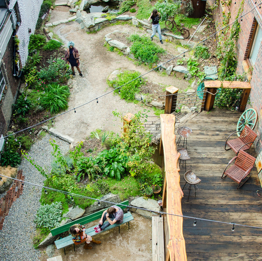 The Yard, Greensboro Permaculture Guild + Common Ground (Greensboro, NC). 2015. Courtesy of Elsewhere Museum.