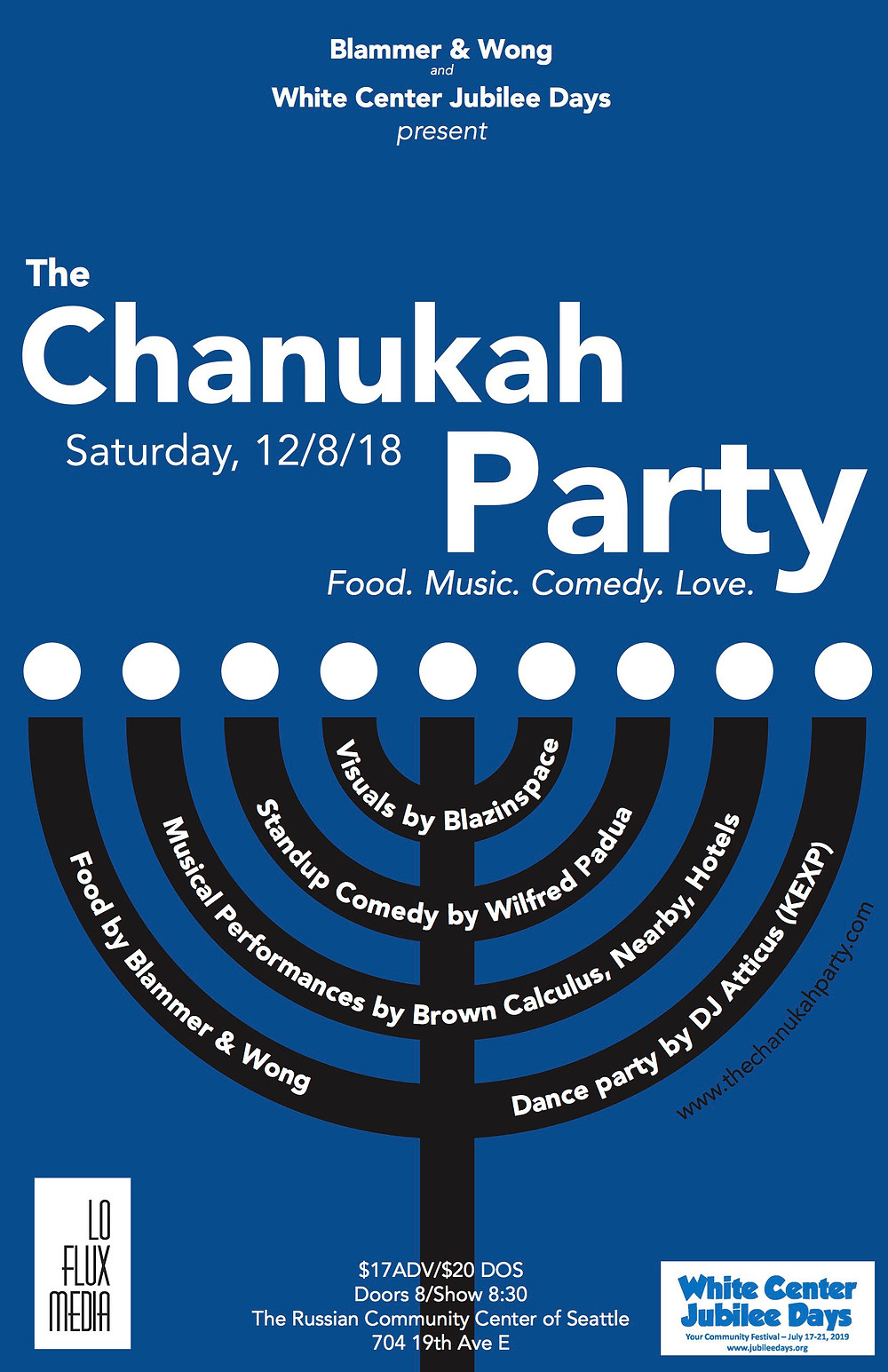 The Chanukah Party poster
