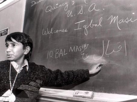 Çocuk Hakları Aktivisti İqbal MASİH ve Çocuk İşçilerin Hukuki Durumu