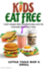 Copy of Kids Eat Free Poster Template -