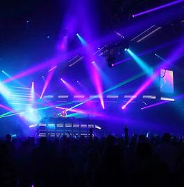 concert moving head beams