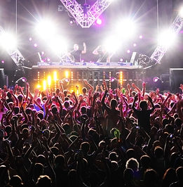 concert dj stage
