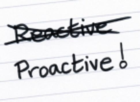 Pro-Active vs. Re-Active Caregiving