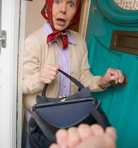 Stealing from the elderly – that's just wrong!