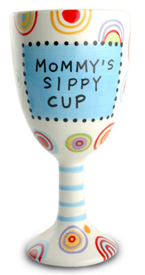 The Sandwich woman's sippy cup