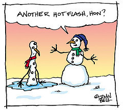 Hot Flashes and Chicago Winters