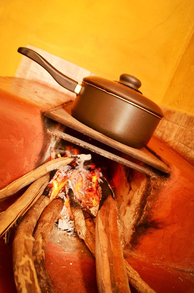 Cozinhando o Feijão...