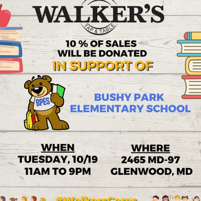 Walker's Night Out - Tues  10/19/21