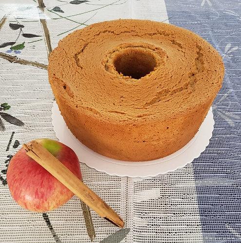 Chiffon de manzana acanelada