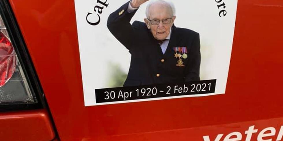 Captain Sir Tom Moore Rally Sticker