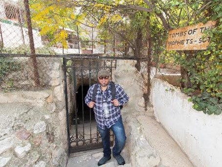 Subterrâneos de Jerusalém: A Tumba dos profetas no Monte das Oliveiras
