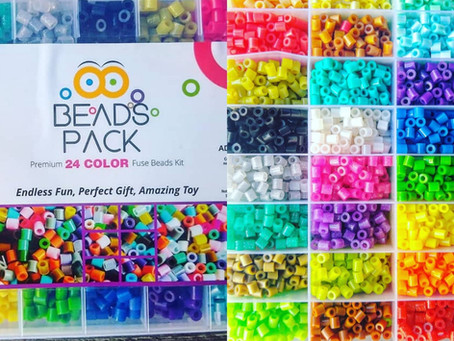 Let's make some fused bead art