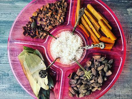 Spices Sensory bin