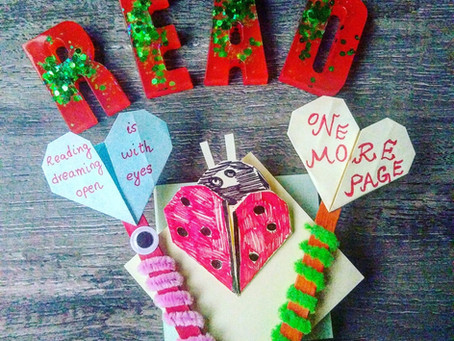 Valentine's Day Bookmarks For kids