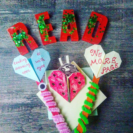 Valentine's Day Bookmarks For kids